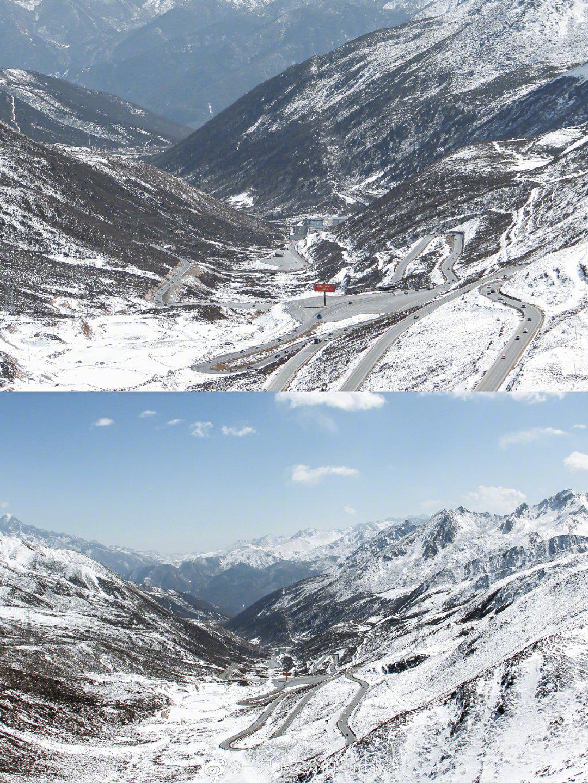 甘孜·折多山观雪台 从康定驶入川藏318国道……