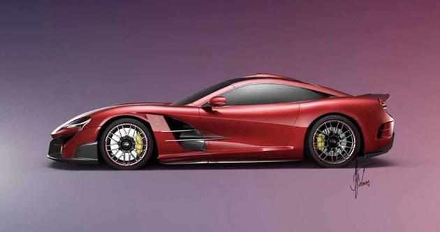 梅赛德斯-奔驰SLR迈凯伦假想图