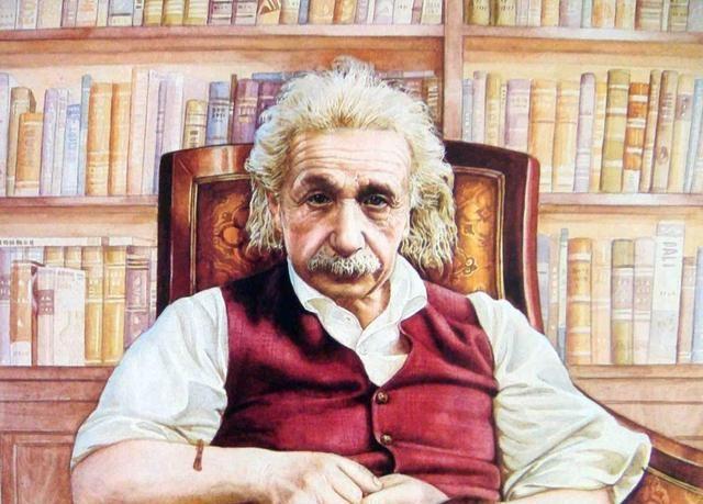 爱因斯坦的照片为何都只有上半身?看到下半身,让人哭笑不得