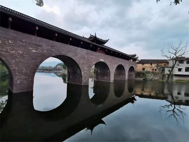 """兰溪通洲桥——东方版""""廊桥遗梦"""""""