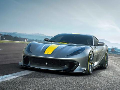 刚发布的法拉利812 Competizione有多快