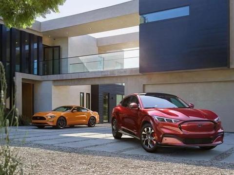 名为野马的新能源车,福特Mustang Mach-E,还将会在国内量产