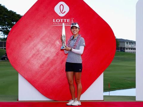 ECCO高尔夫系列品牌大使高宝璟夺冠乐天锦标赛,缔造赛事新纪录