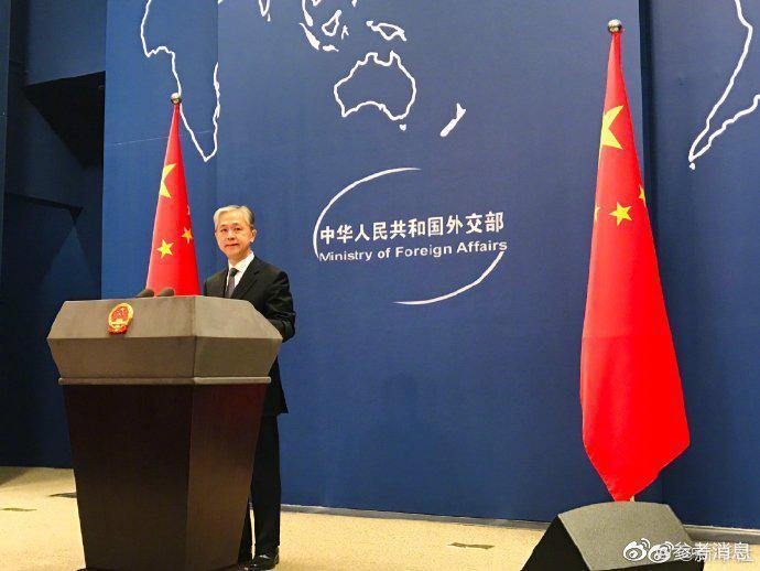 汪文斌批美议员不敢面对新疆官员和群众