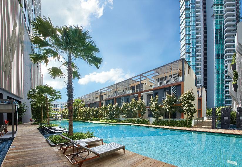 新加坡西海岸公寓SeaHill 稀有公寓式联排别墅 外国人可买