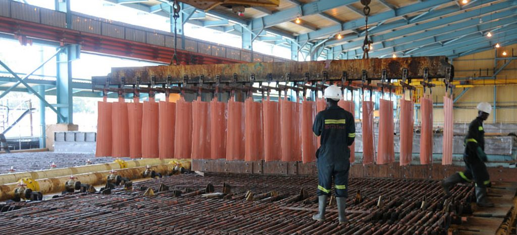 资金短缺致赞比亚大型铜矿Konkola Deep停产