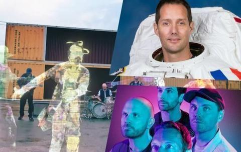 打歌打到上太空 Coldplay与宇航员宣传新曲