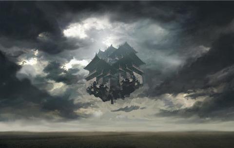"""河北上空出现""""异象"""",游客拍到了""""南天门"""",平行宇宙真存在?"""