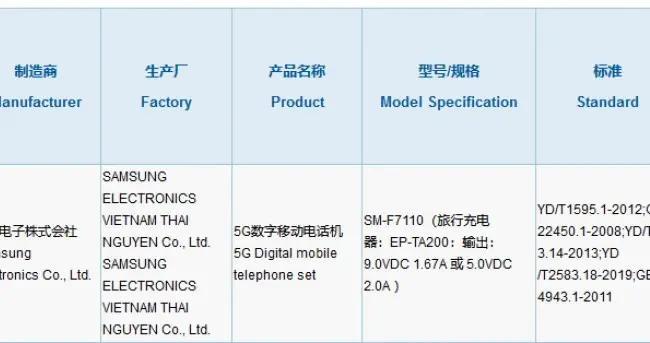 三星Galaxy Z Flip 3与Galaxy Z Fold 3更多信息曝光