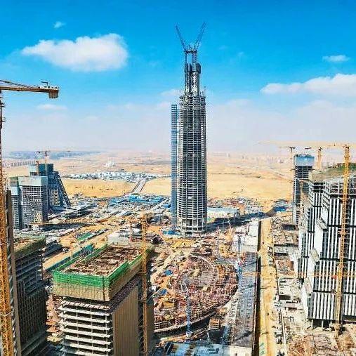海外|在埃及的荒漠里,如何修建非洲第一高楼?