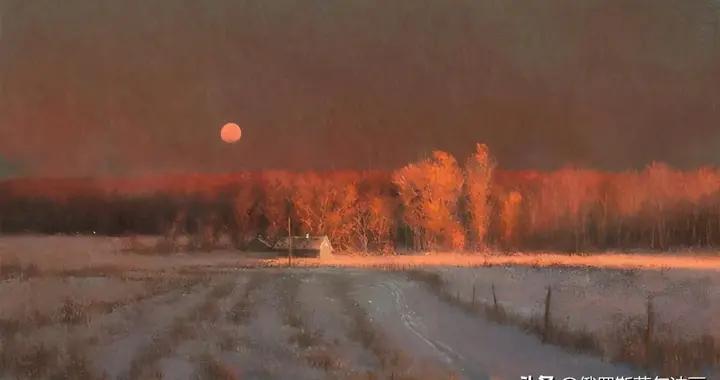 美国艺术家埃莉安巴萨油画作品欣赏