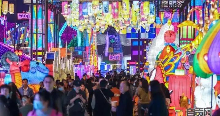 """自贡灯会:母亲节、""""520""""、儿童节有优惠,6月15日至27日闭园维护"""