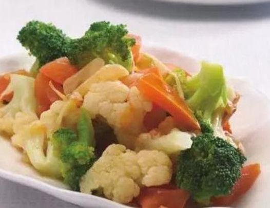 美食推荐:香菇蒸鸡,香辣肉丝,双花炝番茄,红萝卜珍珠丸子