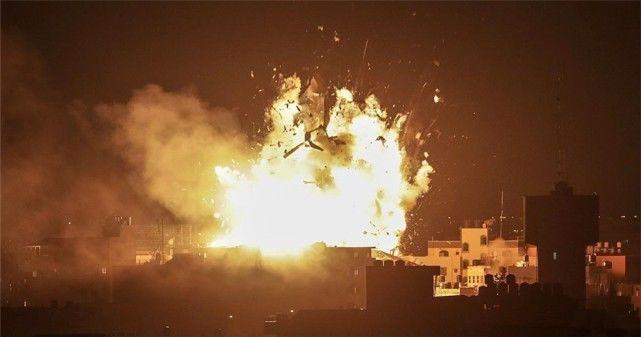 对以色列动手,坦克战机接连出动,300多人抗议,105人受伤