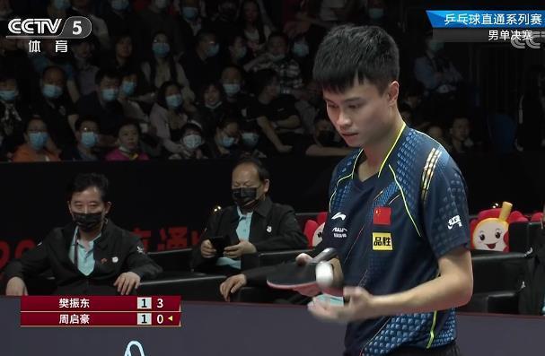 4-2!4-3绝杀!超级黑马夺冠,先后击败马龙樊振东!恭喜周启豪