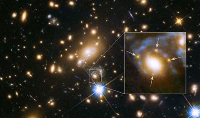 """爱因斯坦没有看错,""""它""""确实存在,哈勃望远镜拍下了真实的图片"""