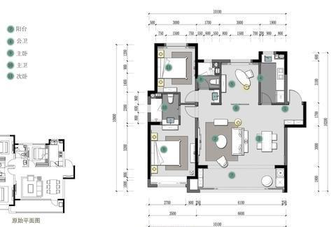 现代轻奢2居,营造优雅舒适的居住感
