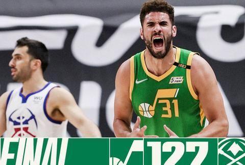 NBA西部最新排名:爵士太阳稳居前2名,湖人跌第7,开拓者升第6!