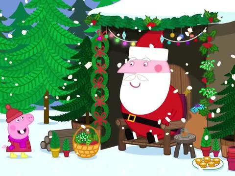 小猪佩奇:苏西超级喜欢护士,圣诞夜非要扮成她,老师拿她没办法