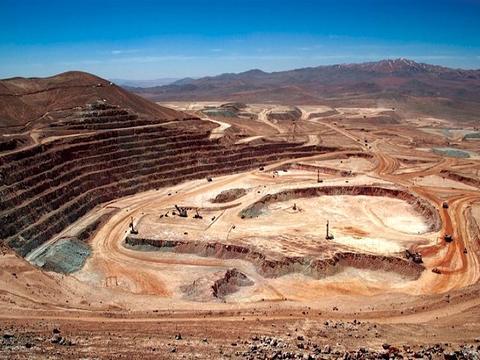 3月智利铜产量同比下降1.2%至488,700吨