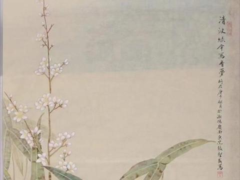 工笔画家张坚盛,用传统笔墨创作当代花鸟画,清新脱俗,韵致高雅