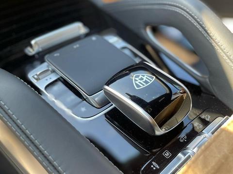 梅赛德斯-迈巴赫GLS级实车 外观奢华大气