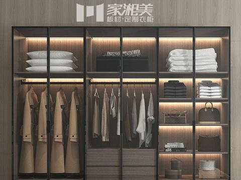 十大衣柜板材家湘美品牌:衣柜门种类有哪些