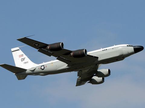 RC-135S以波音-707为基础,搜集弹道导弹轨迹,被称作眼镜蛇球!