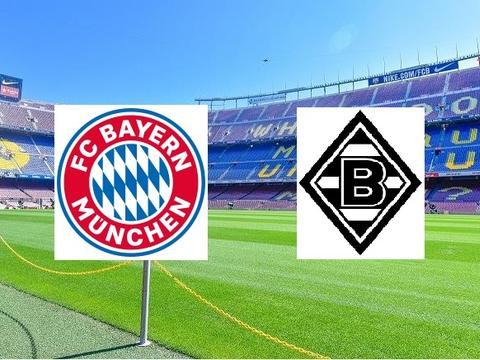 德甲 拜仁慕尼黑vs门兴格拉德巴赫 足球联赛