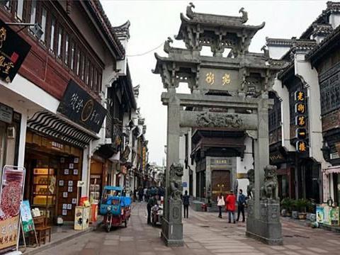 安徽省保留至今原生态的老街,长约600米,彰显老街应有之美