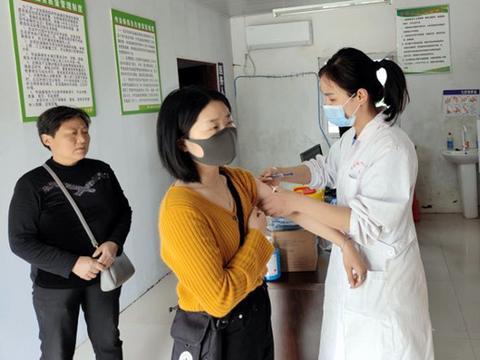 安徽省寿县堰口镇有序推进新冠灭活疫苗接种
