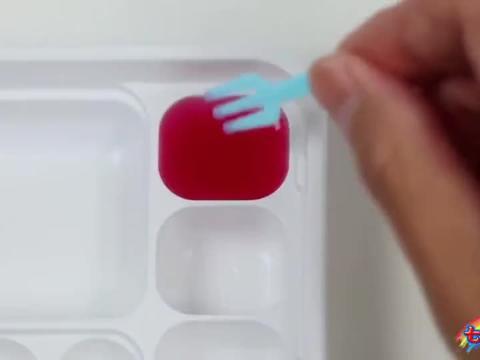 趣味过家家亲子游戏,早教启蒙认知创意DIY布丁糖果学习认识颜色
