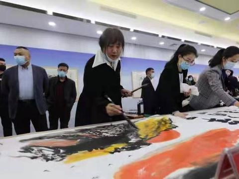 黑龙江省统一战线庆祝建党100周年书画展举行 聂云凌出席并讲话
