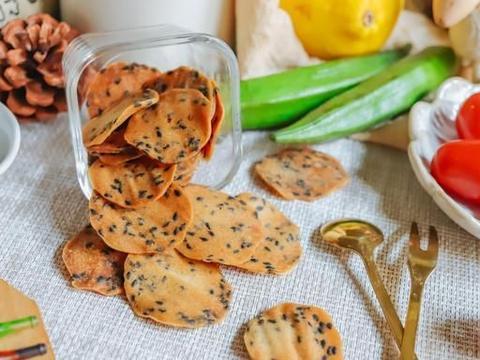 超级简单99%成功,超级补钙的小零食,香香脆脆的小饼干