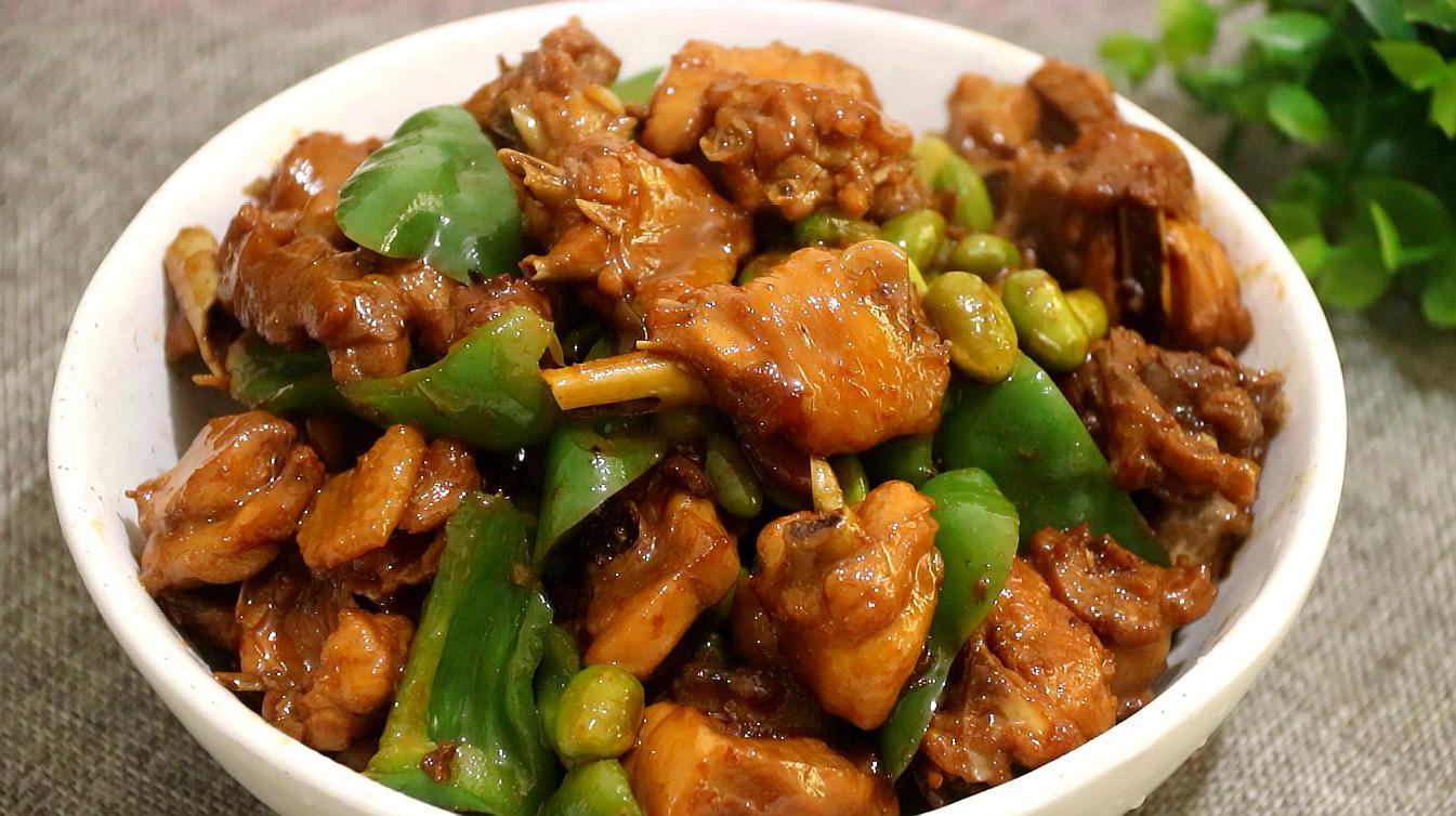 教你营养好吃的酱香鸡肉,咸香美味又解馋下饭,很过瘾