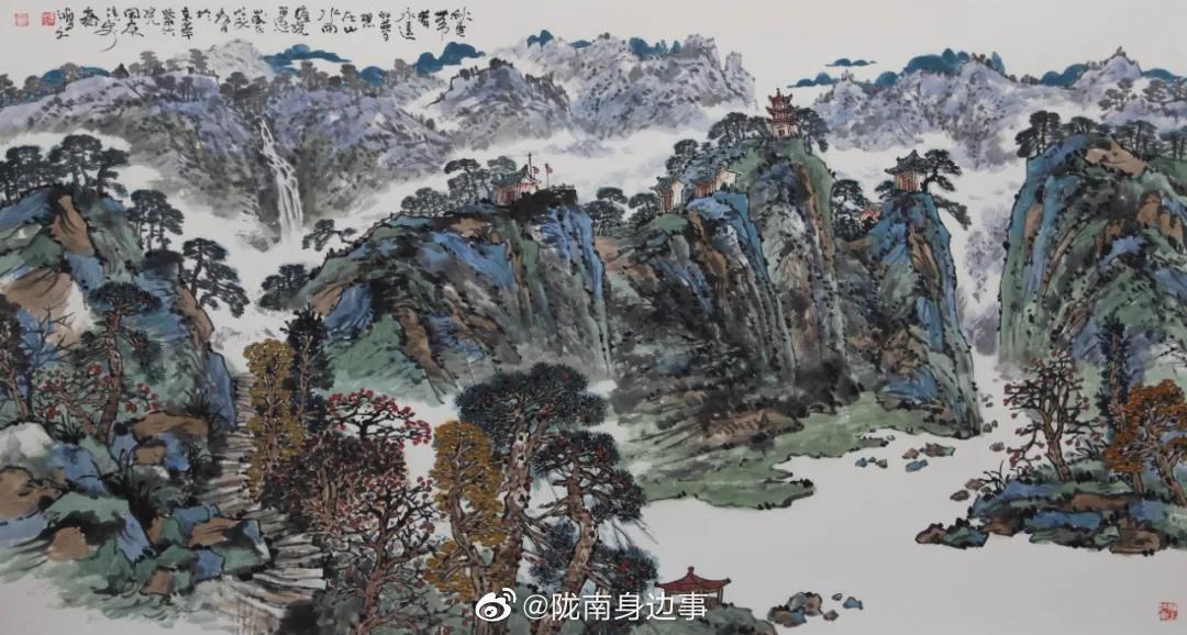 陇南是一个神奇美丽的地方,是一幅原生态的山水画卷……