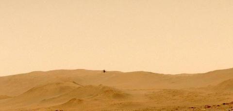 """火星上的""""机智号""""无人机进行第五次飞行,能起到哪些帮助呢?"""