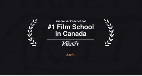 """温哥华电影学院连续五年上榜""""Variety""""全球顶尖电影学院"""