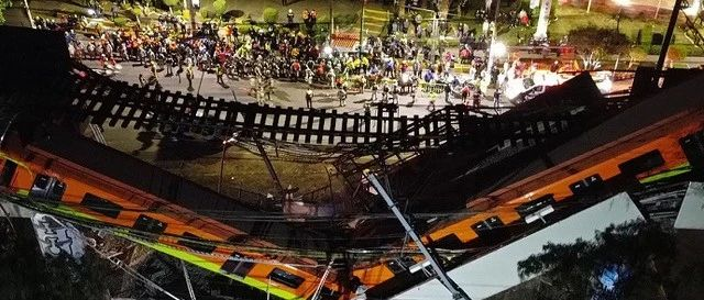 桥梁坍塌致25死80伤,遇到建筑物坍塌该咋办?
