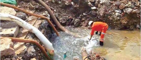 水漫金刀营追踪丨施工方从未调阅管线资料 为10年来规模最大一次损管事件