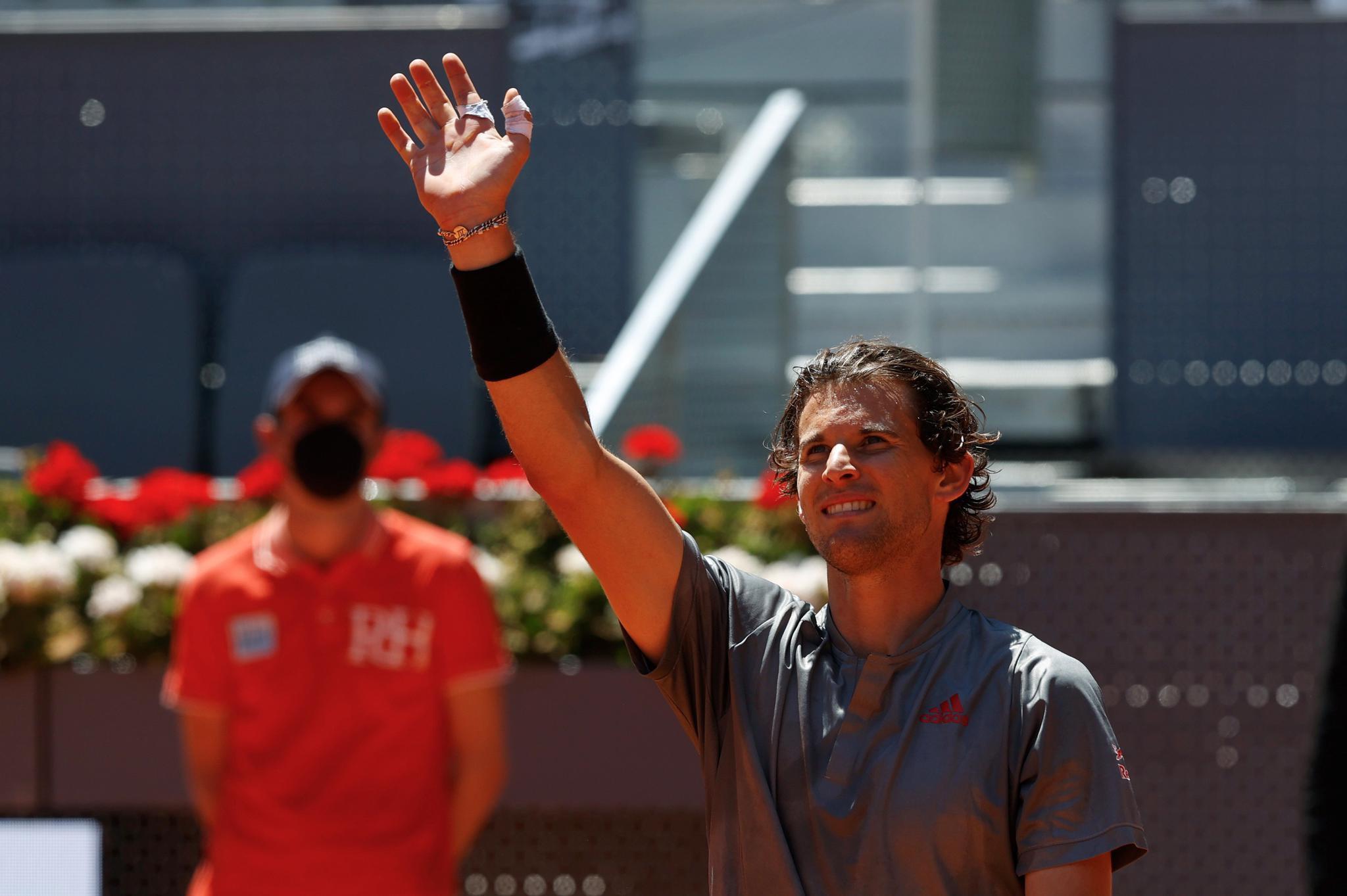 网球——马德里公开赛:蒂姆晋级半决赛