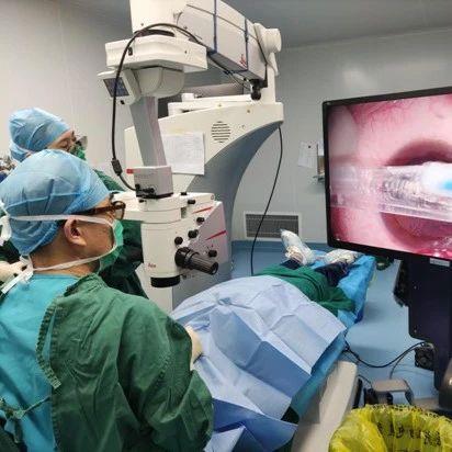 山西首例3D视频近视手术在山西爱尔眼科医院完成!