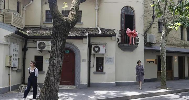 上海蝴蝶结阳台成网红打卡地