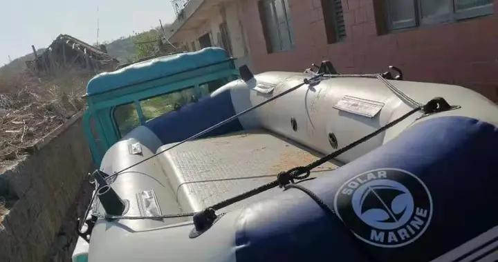 男子休渔期违规出海遇险获救 海阳市渔业执法人员:橡皮筏没收,偷渔行为严打