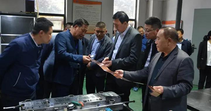 赵卫东调研东旭项目新材料产业链与天水市企业对接情况