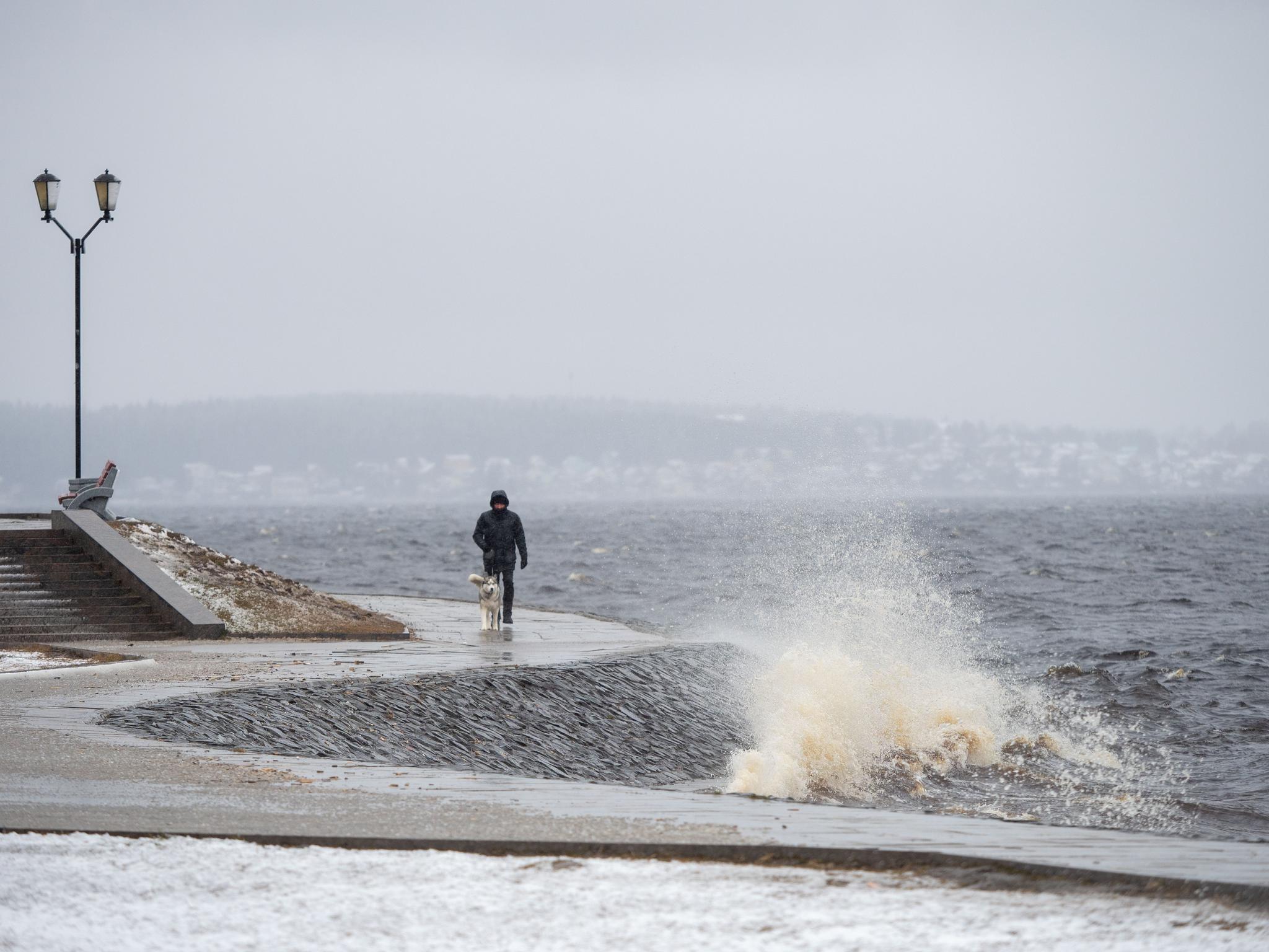 俄罗斯:下雪了
