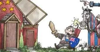 澳大利亚实力演绎,什么叫自作自受啊?