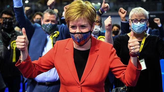 """苏格兰议会议会选举结果出炉 英国或将面对苏格兰""""脱英"""""""