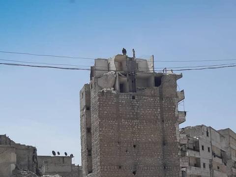 叙利亚给公共人员发5万,给退休人员发4万,大城市阿勒颇清理废墟