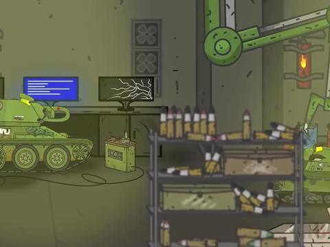 坦克动画:恶魔般的魔术师